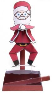 Babbo Natale Danzante