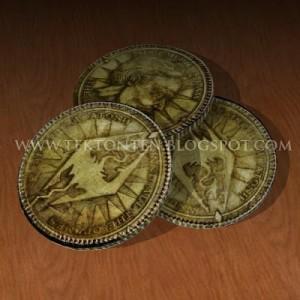 Skyrim Papercraft: Monete Septim