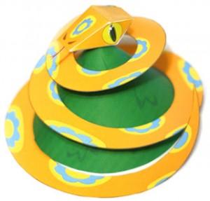 Serpente di carta – Giocattolo di Natale