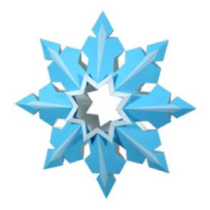 Ornamenti di Natale: Fiocchi di Neve