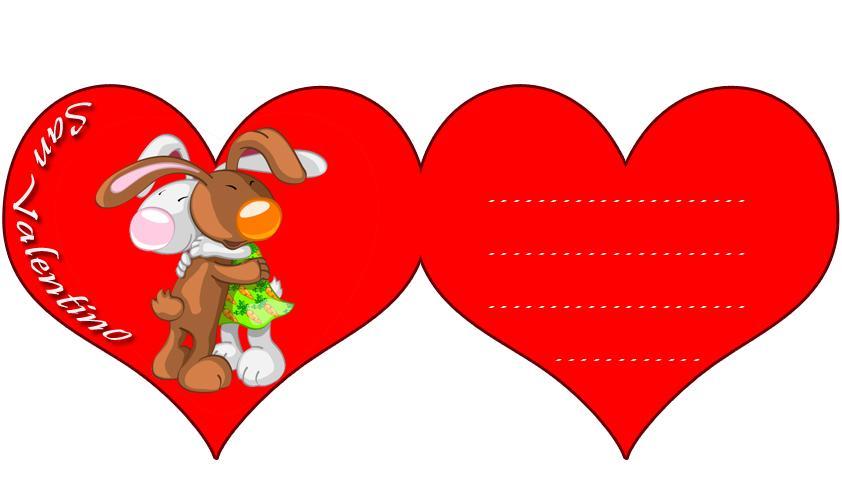 Cuori romantici bimbi di carta for Disegni di cuori da stampare gratis