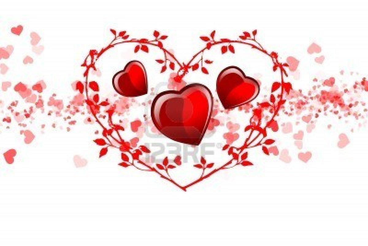 Famoso 8445575-disegnare-con-cuori-dedicata-a-san-valentino-illustrazione  IR03