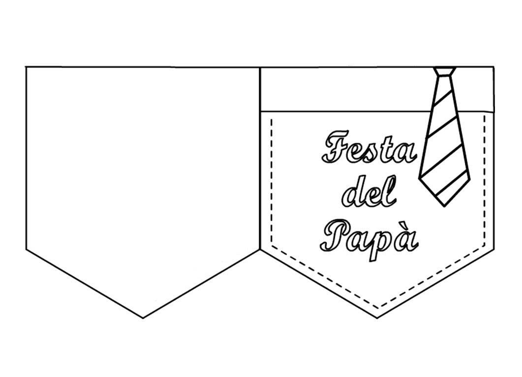 Ti voglio bene pap bimbi di carta for Immagini festa del papa da colorare