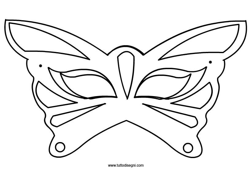 Maschera farfalla2