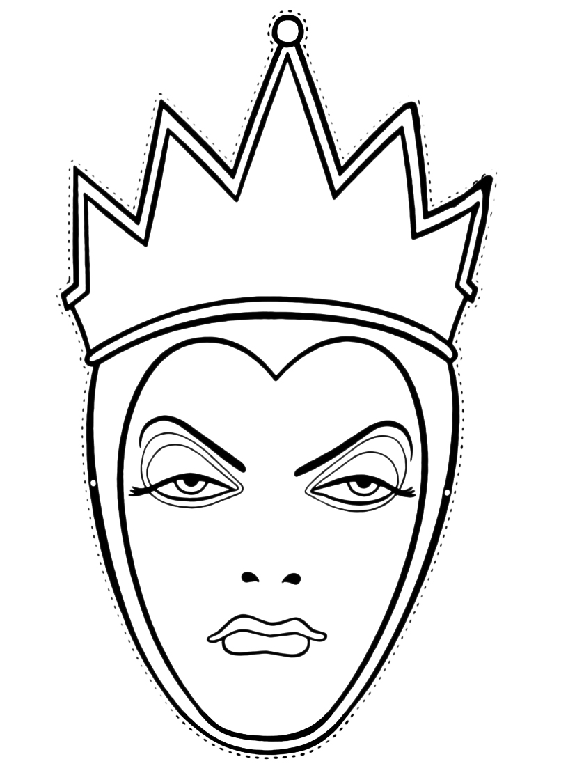 maschera regina cattiva