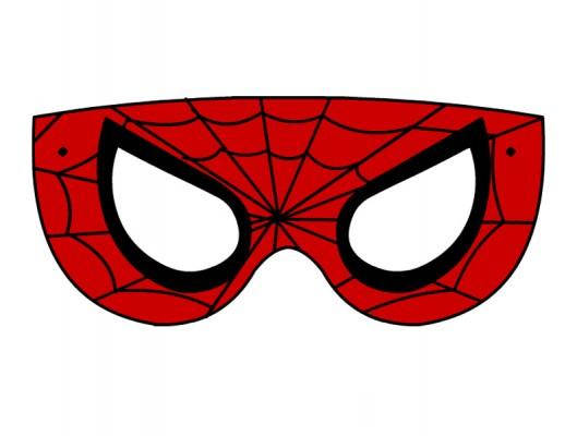 Maschere di carnevale bimbi di carta for Maschere da colorare spiderman