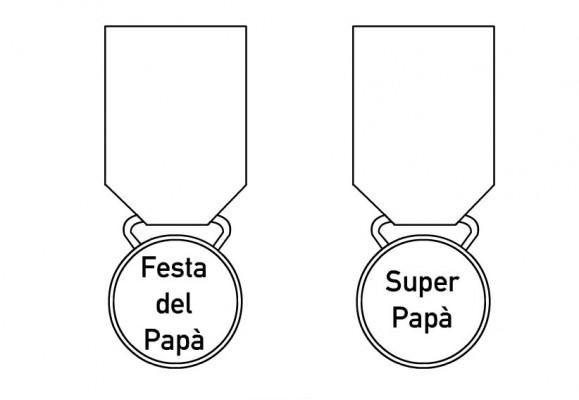 Festa del pap tutta da colorare bimbi di carta - Finestra del papa ...