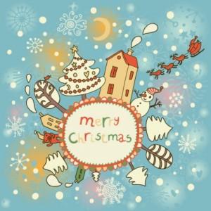 biglietti, segnalibri, cartoline…dal sapore natalizio