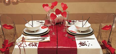 Speciale san valentino last minute bimbi di carta - Idee tavola san valentino ...
