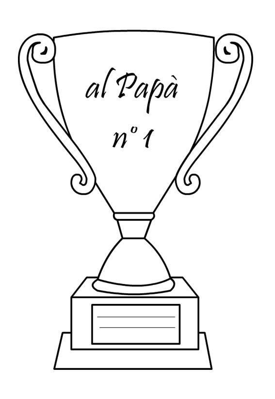Disegni Per La Festa Del Papà Da Colorare E Stampare
