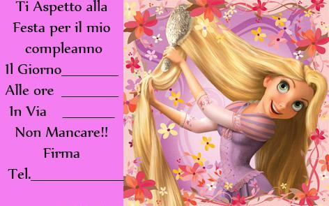 invitocompleanno rapunzel mod