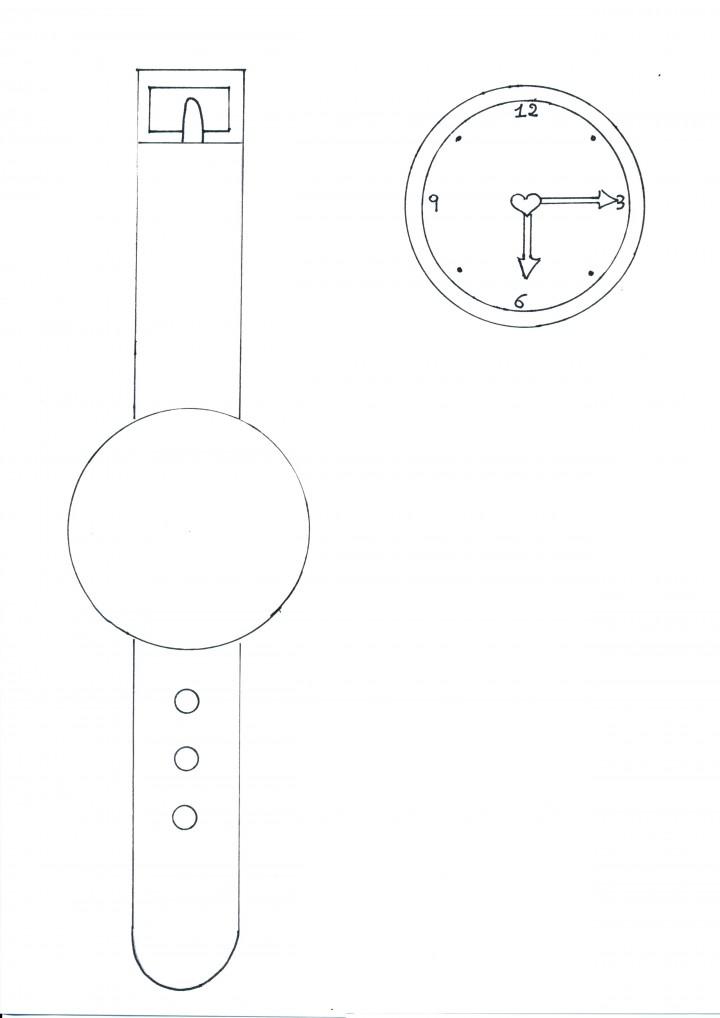Auguri Matrimonio Orologio : Orologio da colorare bimbi di carta