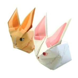 rabbit immagine per papercraft