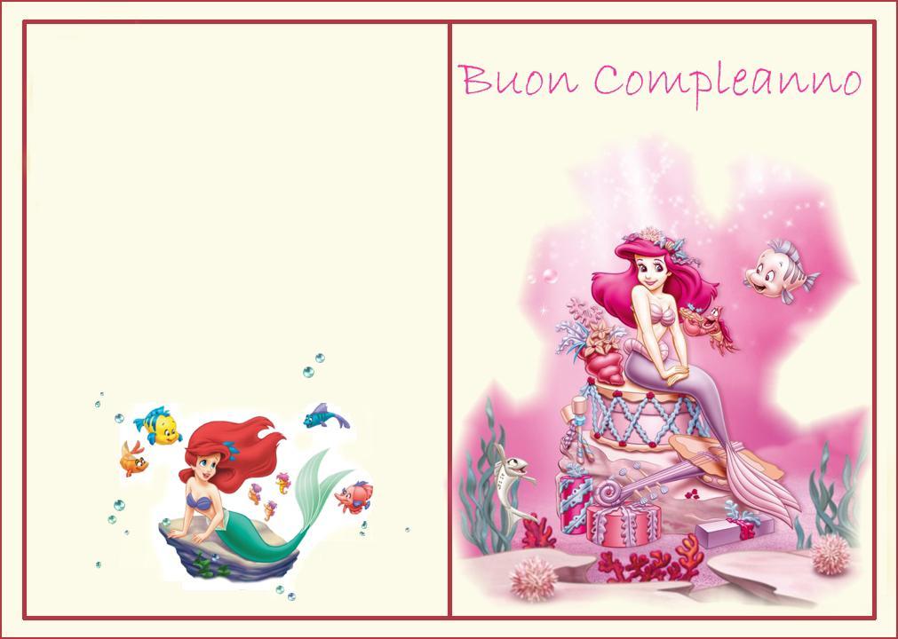 Favorito Buon compleanno principessa! - Bimbi di Carta KK56
