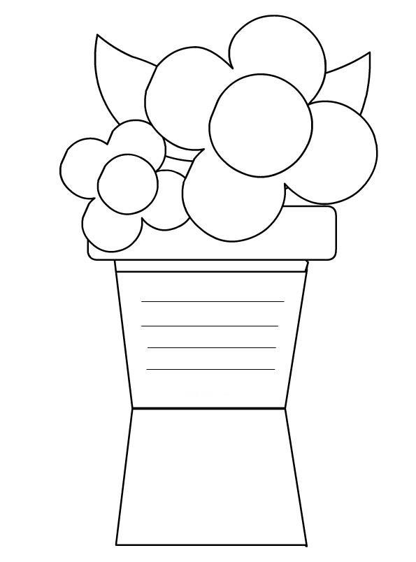 biglietto-vaso-fiori da colorare