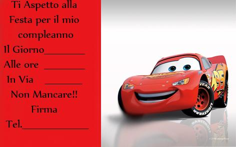 compleanno cars mod