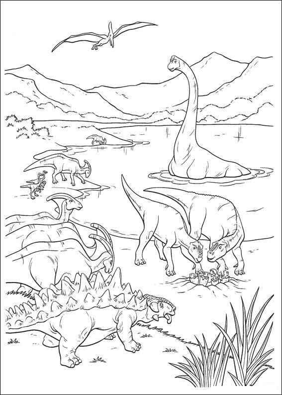dinosauro disegno 12
