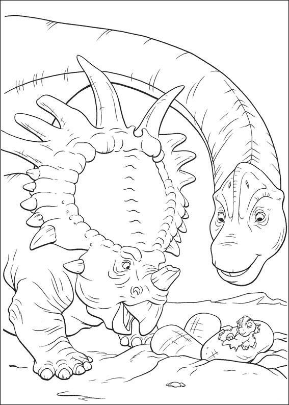 dinosauro disegno 13