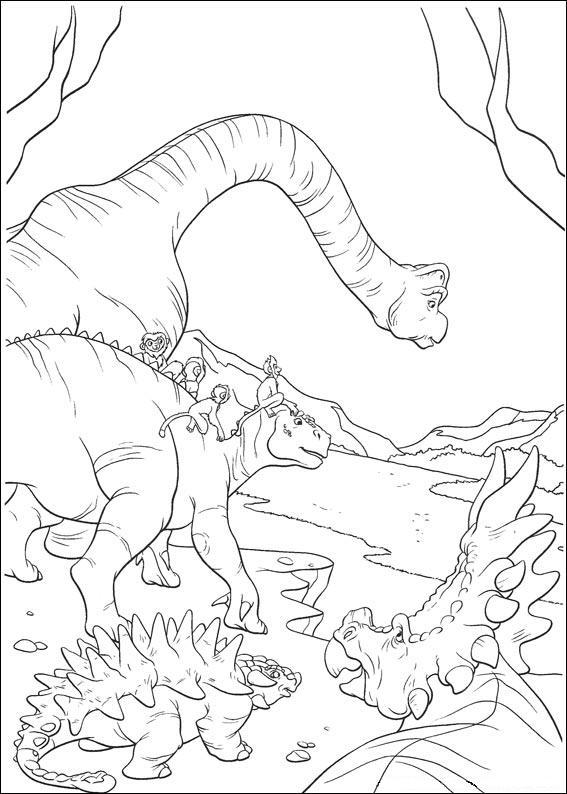 dinosauro disegno 21