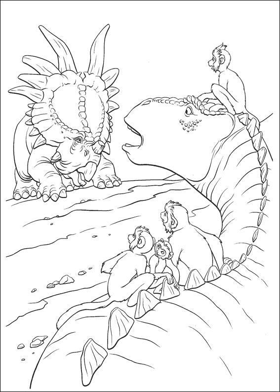 dinosauro disegno 23