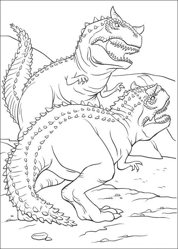 dinosauro disegno 24