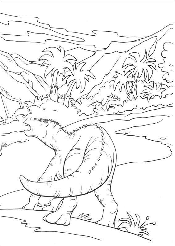dinosauro disegno 7