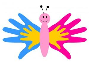 Con le mani di una…farfalla!