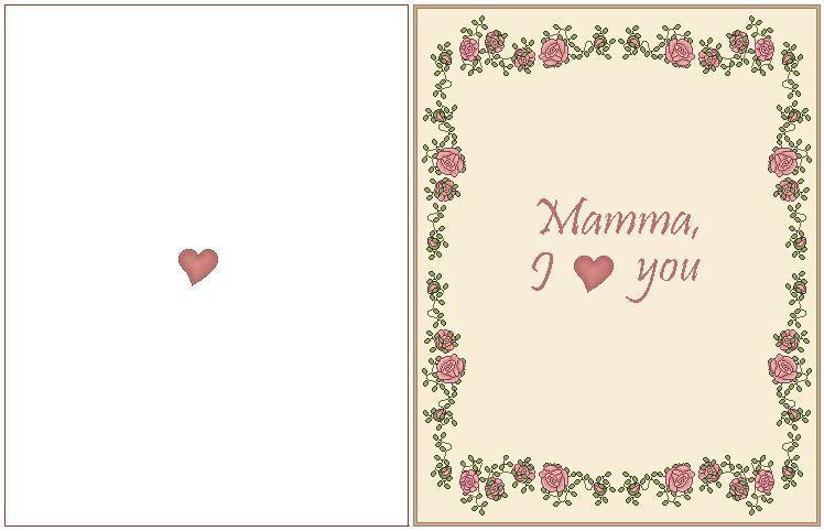 mamma i love you