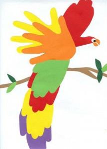 Il pappagallo fatto…con le tue mani!