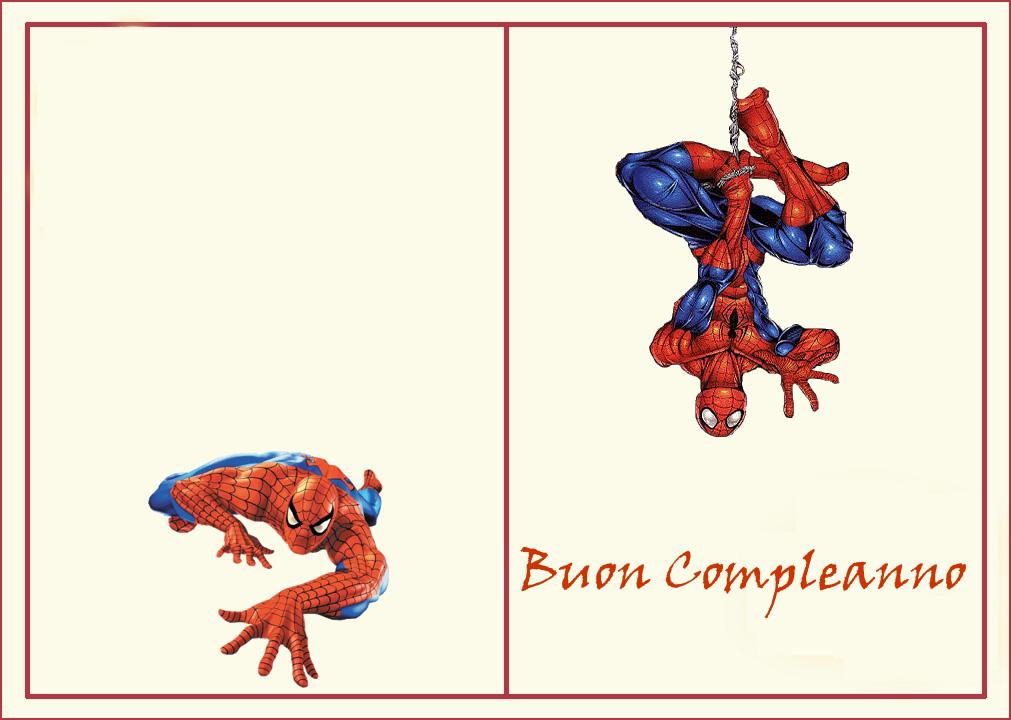 Estremamente spiderman-esterno - Bimbi di Carta HK05