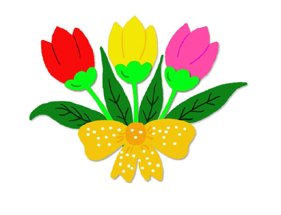 E 39 arrivata la primavera bimbi di carta - Addobbi primavera per finestre ...