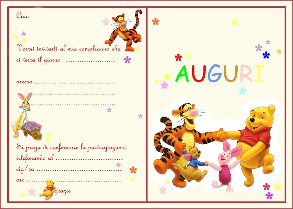 Favoloso winni-pooh-interno - Bimbi di Carta AS63