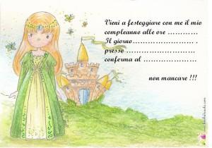 L'invito della Principessa di Smeraldo