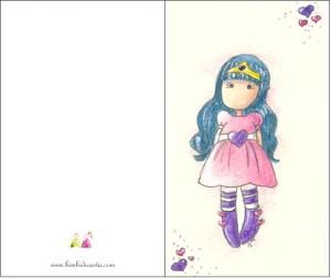 L'invito della principessa lilla