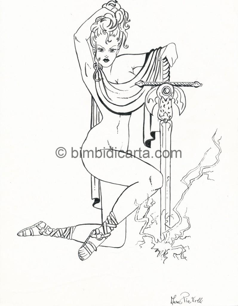 china donna e spada