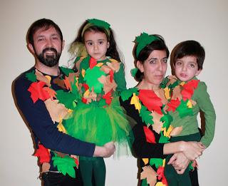 Costume Carnevale Famiglia