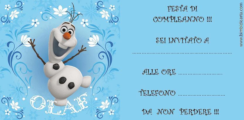 Olaf-Frozen BOZZA
