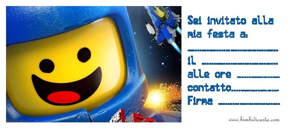 Eccezionale Lego festa - Bimbi di Carta MO18