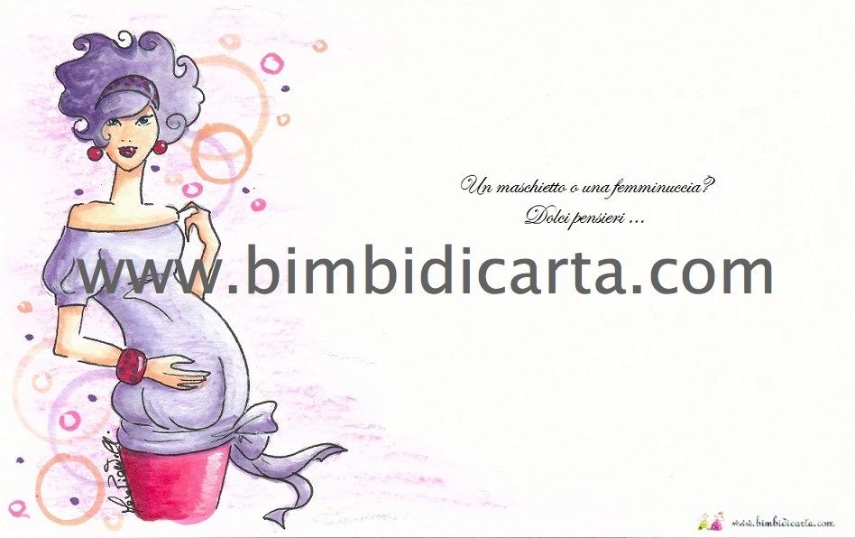 abbastanza Biglietto di auguri per l'amica incinta - Bimbi di Carta NL86