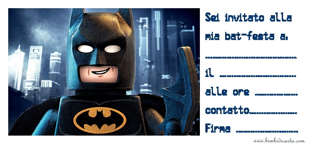lego movie batman2 prova