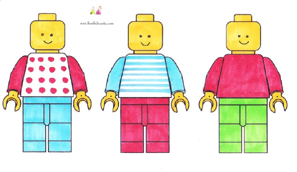 GHIRLANDA LEGO