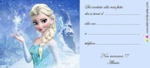 """Invito """"gelido"""" per la festa di Alessia"""