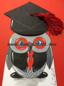 Il Signor Gufo ha preso la laurea