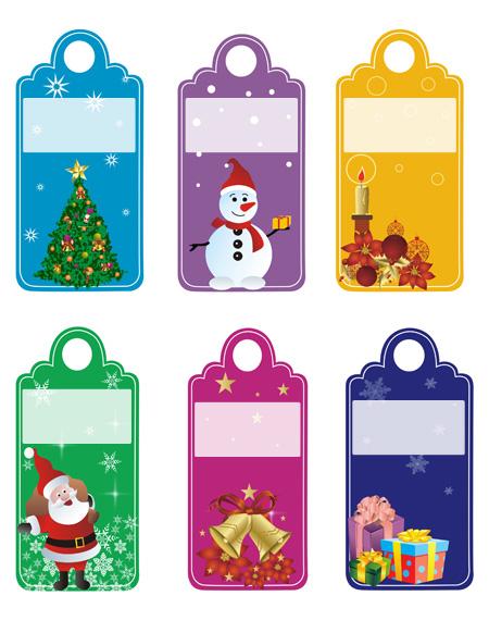 Biglietti Per Regali Di Natale Da Stampare.Etichette Per I Regali Di Natale Bimbi Di Carta