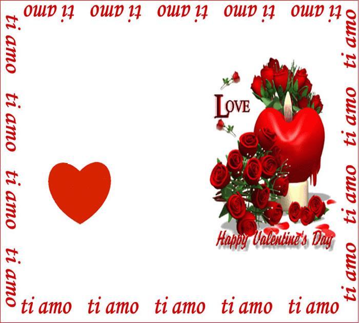 cuore candela e rose mod