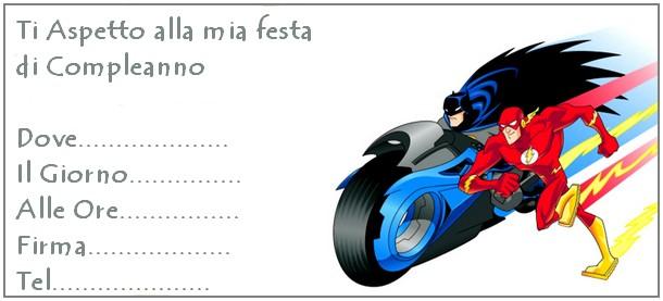 invito batman flash