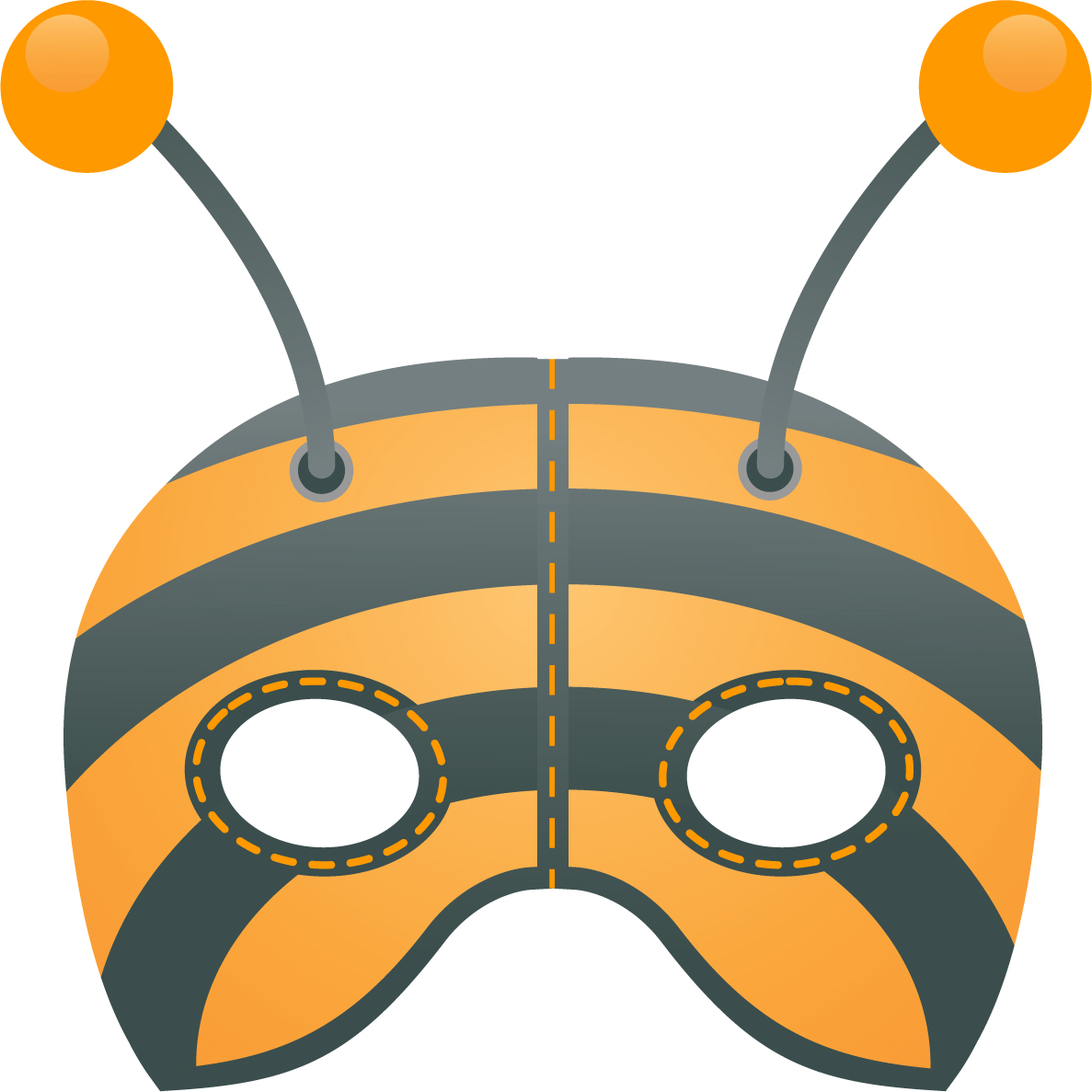 maschera ape maya