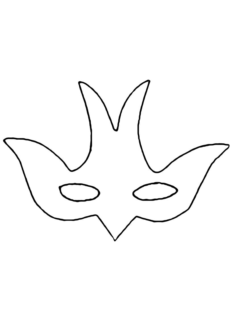 maschera colomba