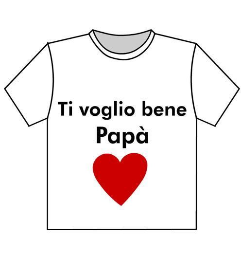 tshirt festa papà mod