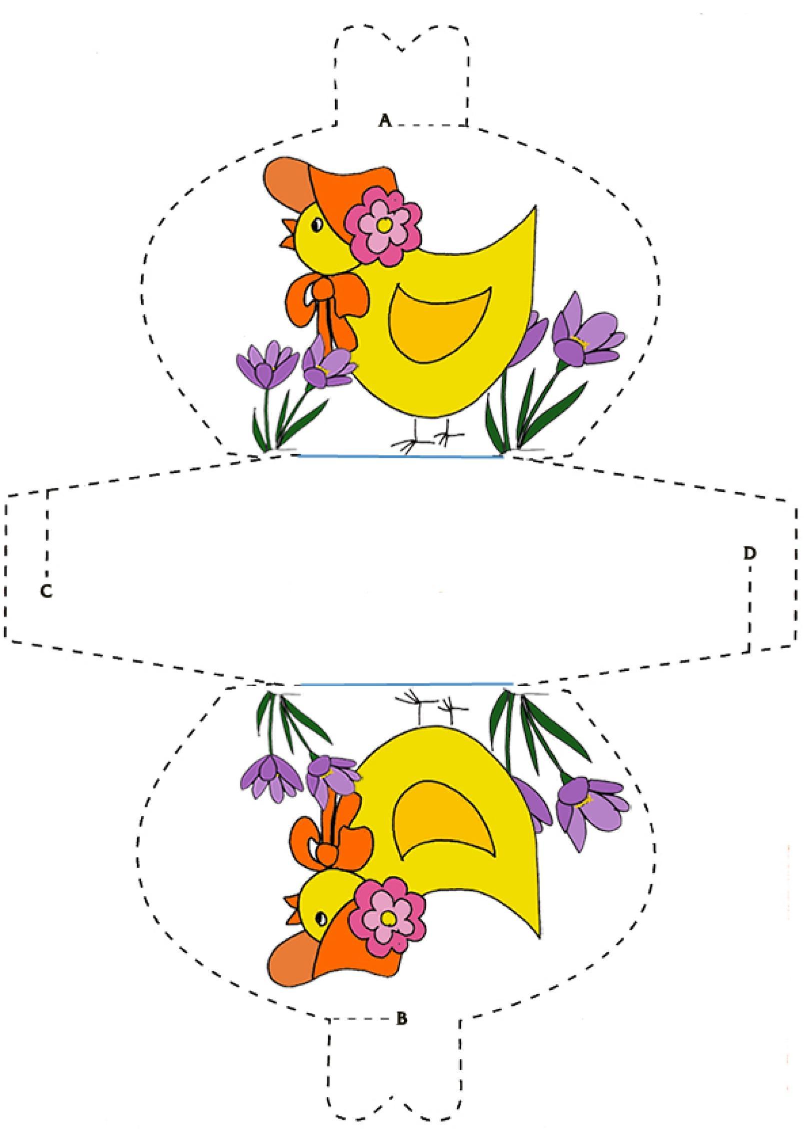 Pochette gallina mod